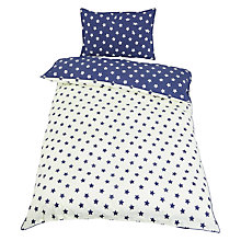 Buy little home at John Lewis Star Duvet Cover and Pillowcase Set, Single Online at johnlewis.com