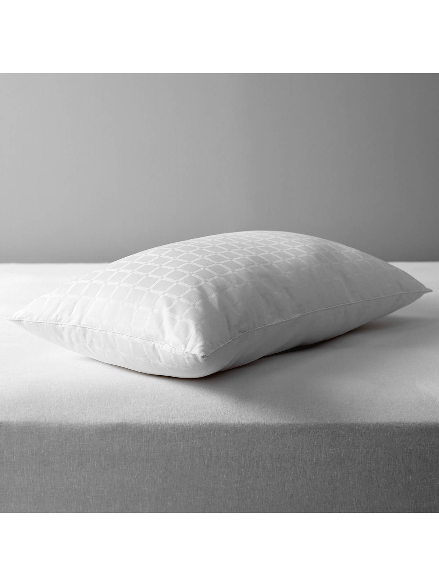 Buy John Lewis & Partners Specialist Synthetic Active Anti Allergy Standard Pillow, Medium Online at johnlewis.com