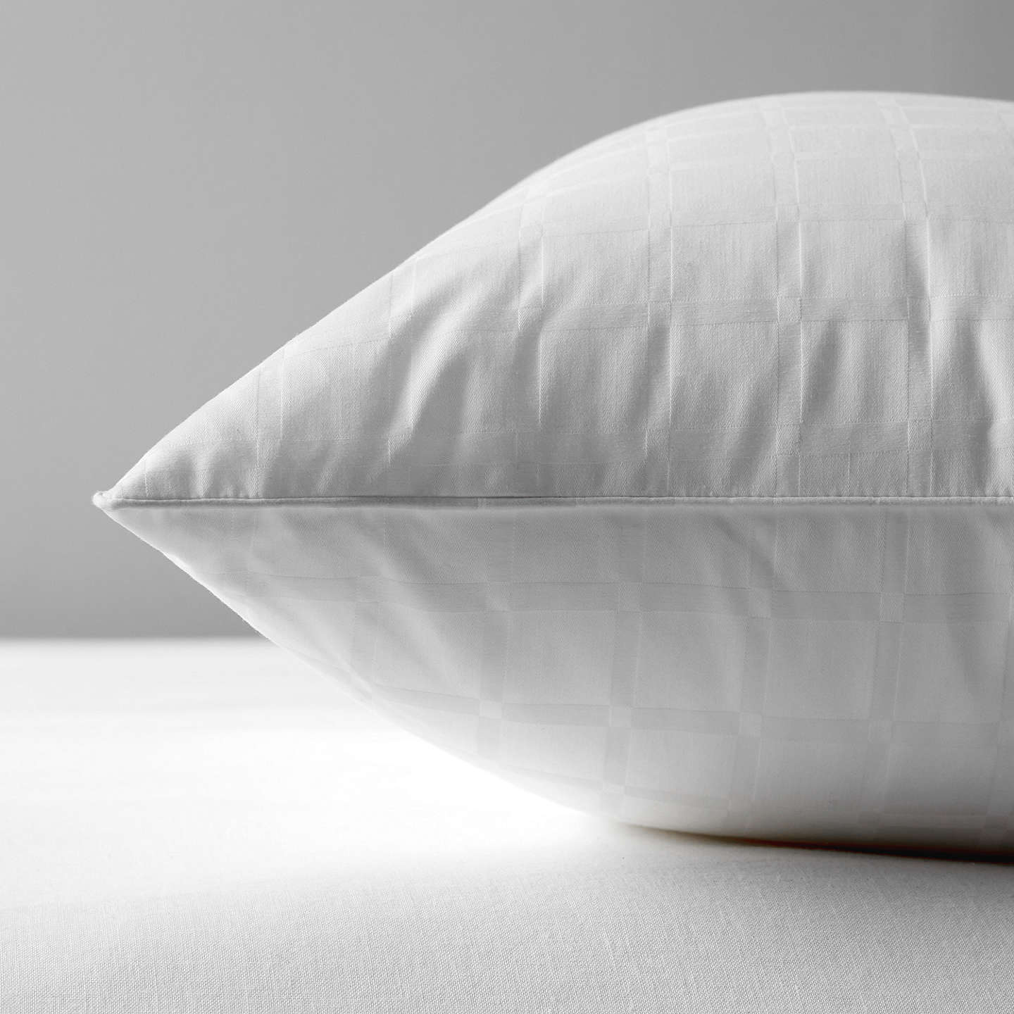 BuyJohn Lewis Synthetic Collection Breathable Microfibre Standard Pillow, Soft/Medium Online at johnlewis.com