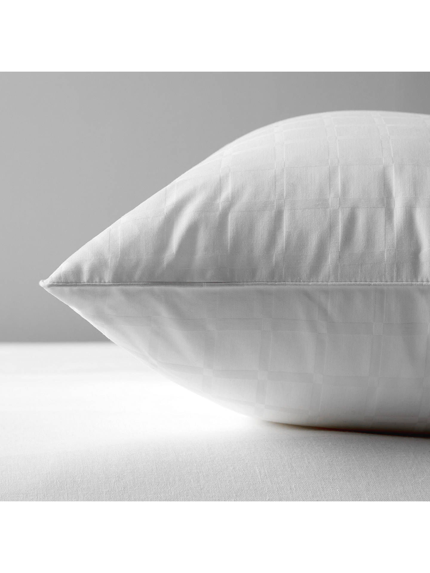 BuyJohn Lewis & Partners Synthetic Collection Breathable Microfibre Standard Pillow, Soft/Medium Online at johnlewis.com