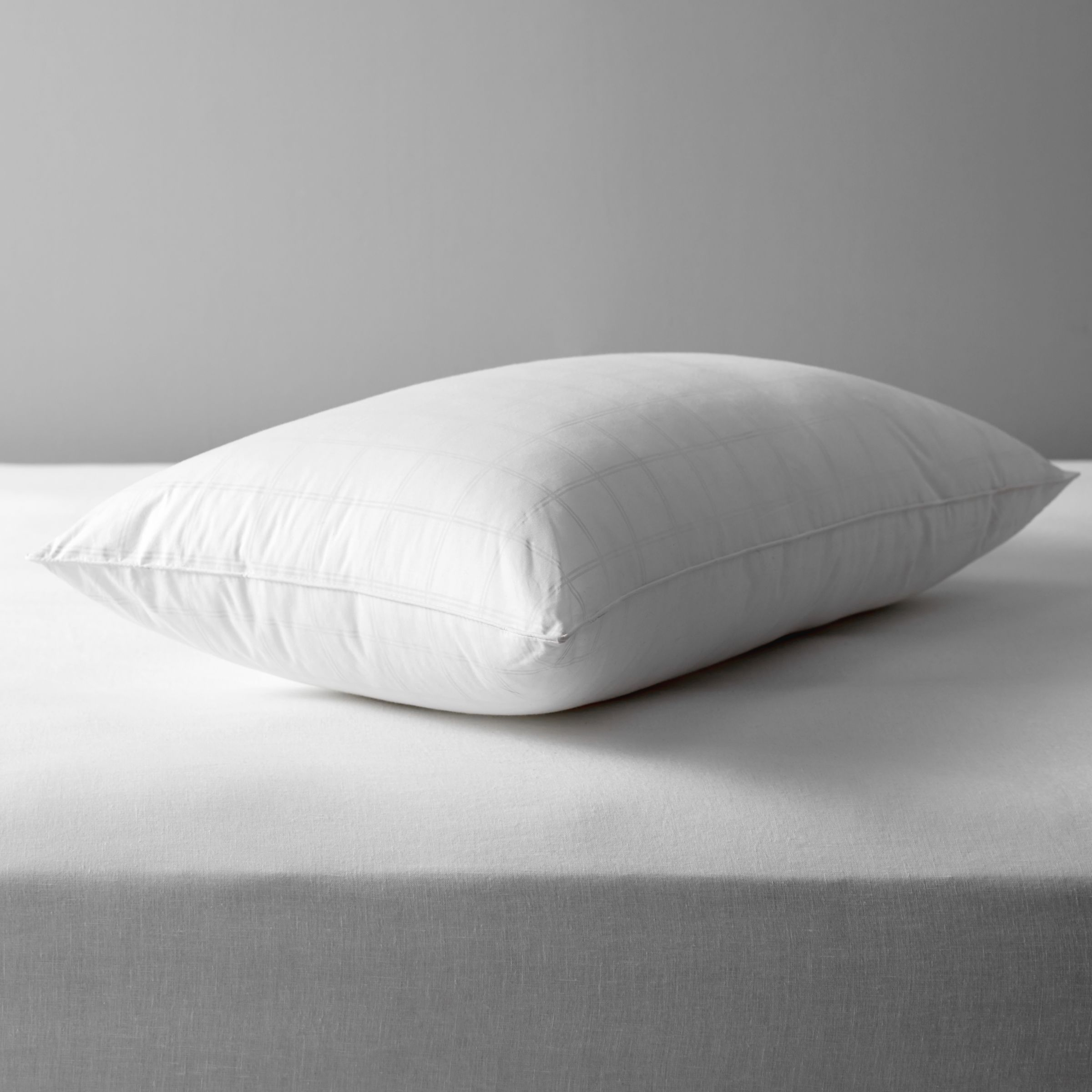 John Lewis & Partners Synthetic Clusterfibre Standard Pillow, Firm