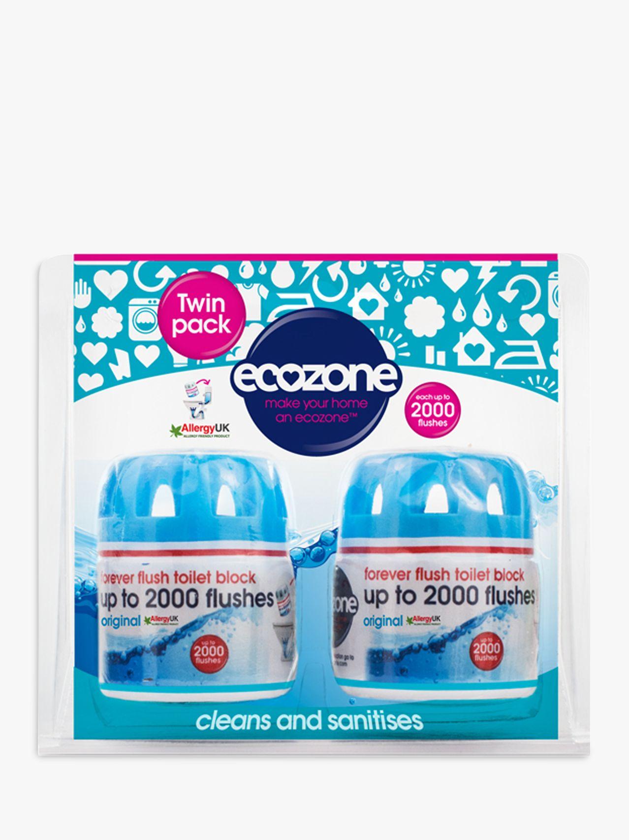 Ecozone Ecozone Forever Flush Toilet Block, Pack of 2