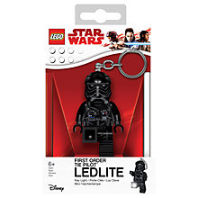 Buy LEGO Star Wars Episode VIII First Order TIE Pilot LED Lite Keyring Online at johnlewis.com