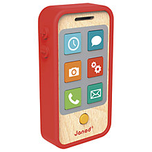 Buy Janod Wooden Phone Online at johnlewis.com