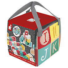 Buy Janod Kubix 40 Wooden Letter And Number Blocks Online at johnlewis.com