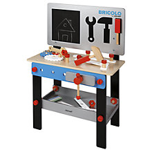 Buy Janod DIY Magnetic Wooden Workbench Online at johnlewis.com