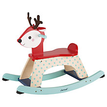 Buy Janod Fawn Forest Rocking Toy Online at johnlewis.com
