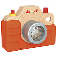Buy Janod Wooden Sound Camera Online at johnlewis.com