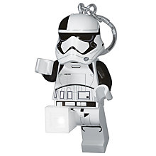 Buy LEGO Star Wars Episode VIII Stormtrooper Executioner LED Lite Keyring Online at johnlewis.com