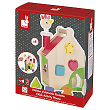 Buy Janod Chick Activity House Wooden Play Set Online at johnlewis.com
