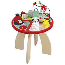 Buy Janod Wooden Forest Activity Table Online at johnlewis.com