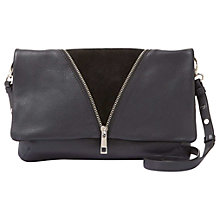 Buy Mint Velvet Dakota Leather Drop Zip Cross Body Bag Online at johnlewis.com