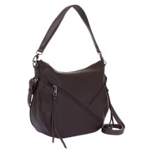 Buy Mint Velvet Lola Leather Double Zip Hobo Bag Online at johnlewis.com