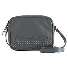 Buy Mint Velvet Ruby Studded Leather Camera Bag, Grey Online at johnlewis.com
