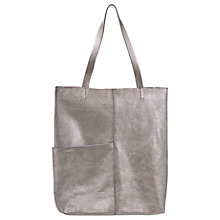 Buy Mint Velvet Annabelle Leather Shopper Bag Online at johnlewis.com