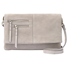 Buy Mint Velvet Elena Suede Zip Detail Cross Body Bag Online at johnlewis.com