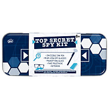 Buy NPW Children's Top Secret Spy Kit Tin Online at johnlewis.com