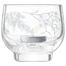 Buy Kew Royal Botanic Gardens Woodland Garland Tealight Holder, Clear Online at johnlewis.com
