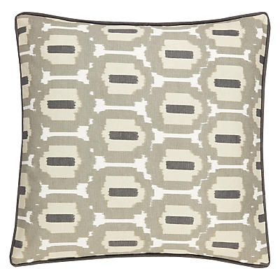 John Lewis Agra Reversible Square Showerproof Outdoor Cushion, Multi