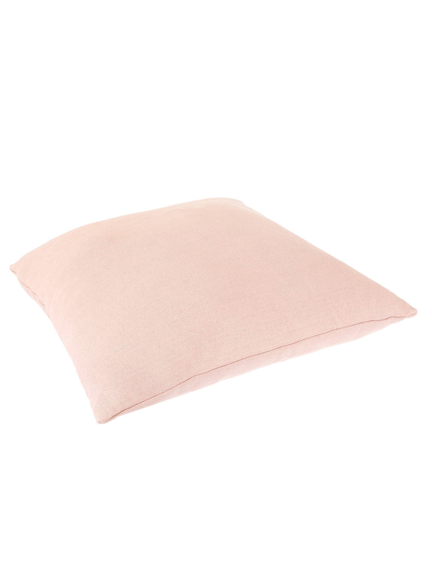 BuyCroft Collection Square Showerproof Outdoor Cushion, Rosa Online at johnlewis.com