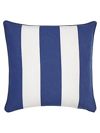 John Lewis U0026 Partners Mix U0027Nu0027 Match Stripe Reversible Showerproof Outdoor  Cushion