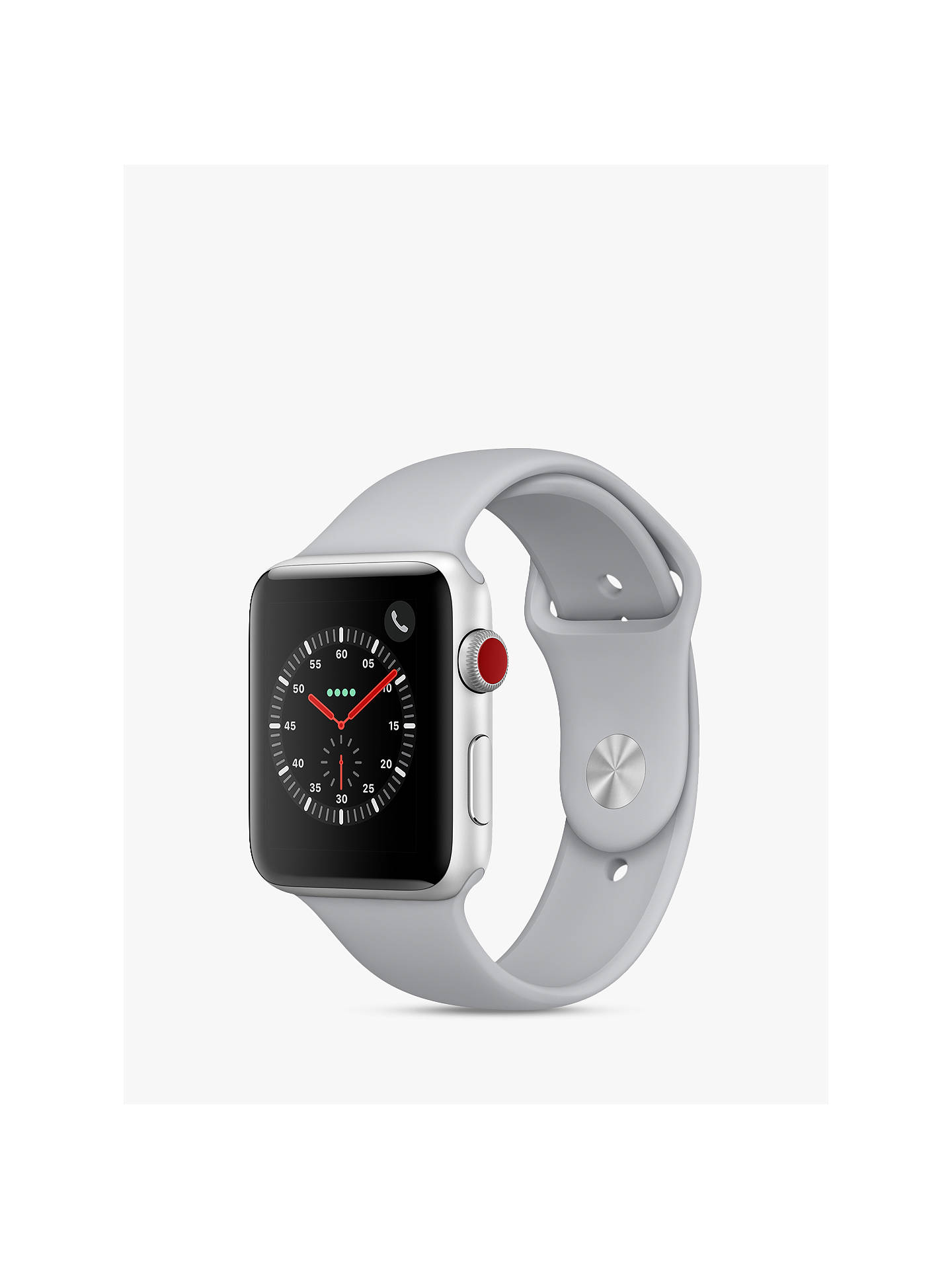 Apple Watch Series 3, GPS and Cellular, 42mm Silver