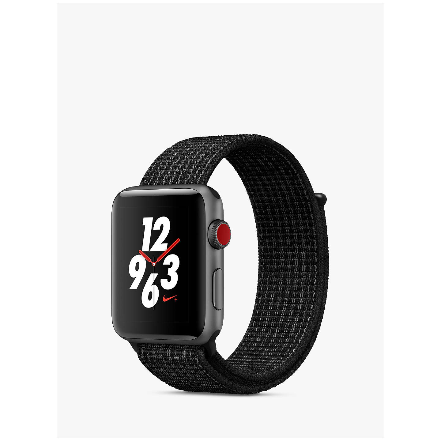 BuyApple Watch Nike+, GPS and Cellular, 42mm Space Grey Aluminium Case with  Nike Sport ...