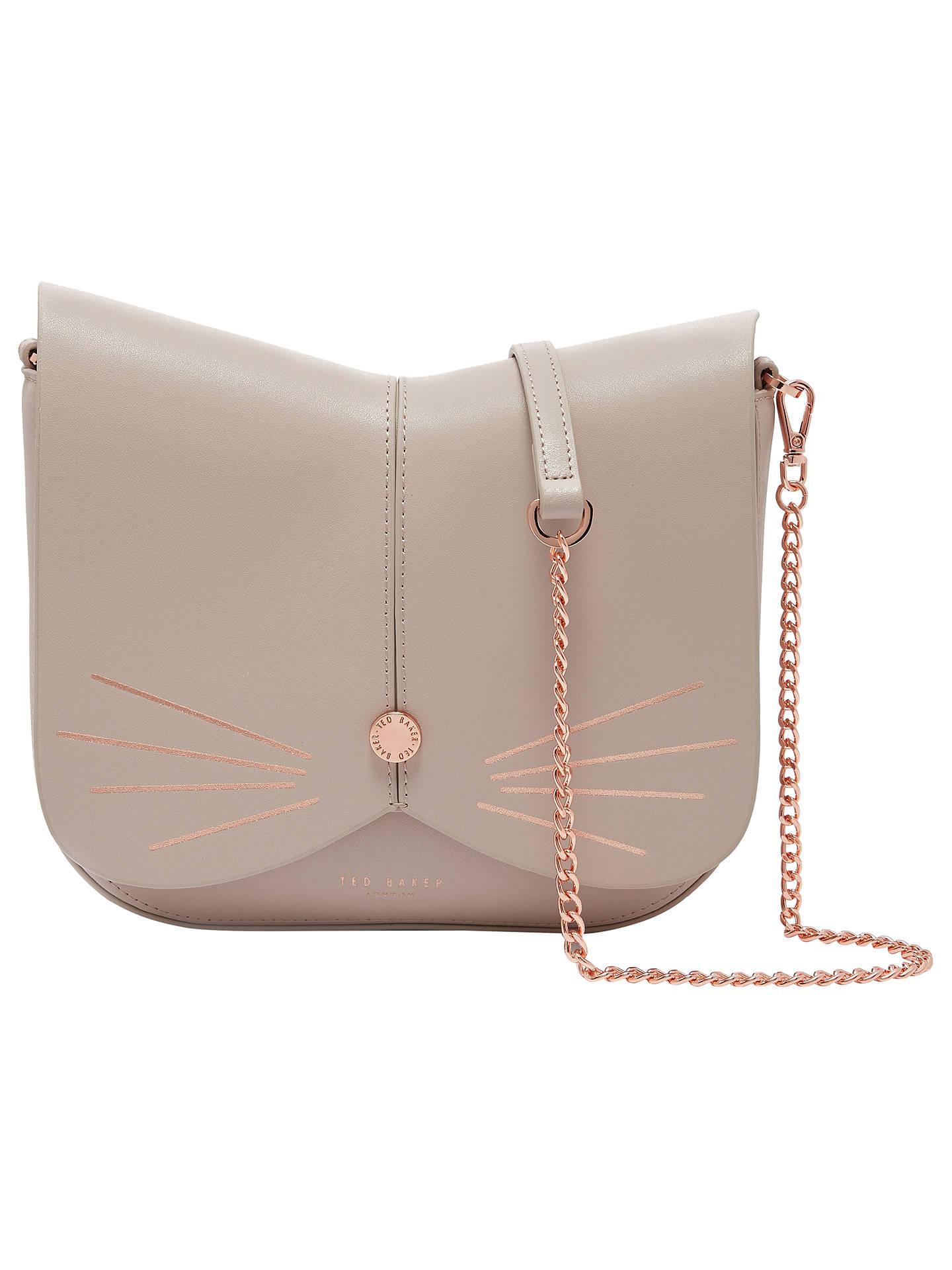 7aaaa1f9d6 Buy Ted Baker Kitti Cat Leather Across Body Bag