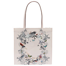 Buy Ted Baker Lelacon Enchanted Dream L Icon Shopper Bag, Pale Pink Online at johnlewis.com