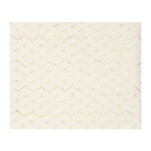 Buy John Lewis Receiving Blanket, Off White Online at johnlewis.com