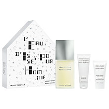 Buy Issey Miyake L'Eau d'Issey Pour Homme 125ml Eau de Toilette Fragrance Gift Set Online at johnlewis.com