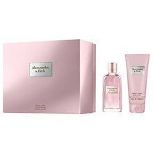 Buy Abercrombie & Fitch First Instinct For Her 50ml Eau de Parfum Fragrance Gift Set Online at johnlewis.com