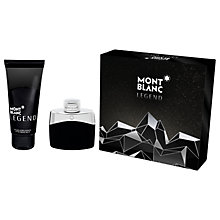 Buy Montblanc Legend 50ml Eau de Toilette Fragrance Gift Set Online at johnlewis.com
