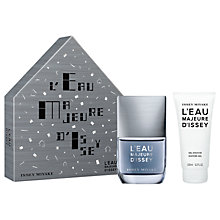 Buy Issey Miyake L'Eau Majeure D'Issey 50ml Eau de Toilette Fragrance Gift Set Online at johnlewis.com