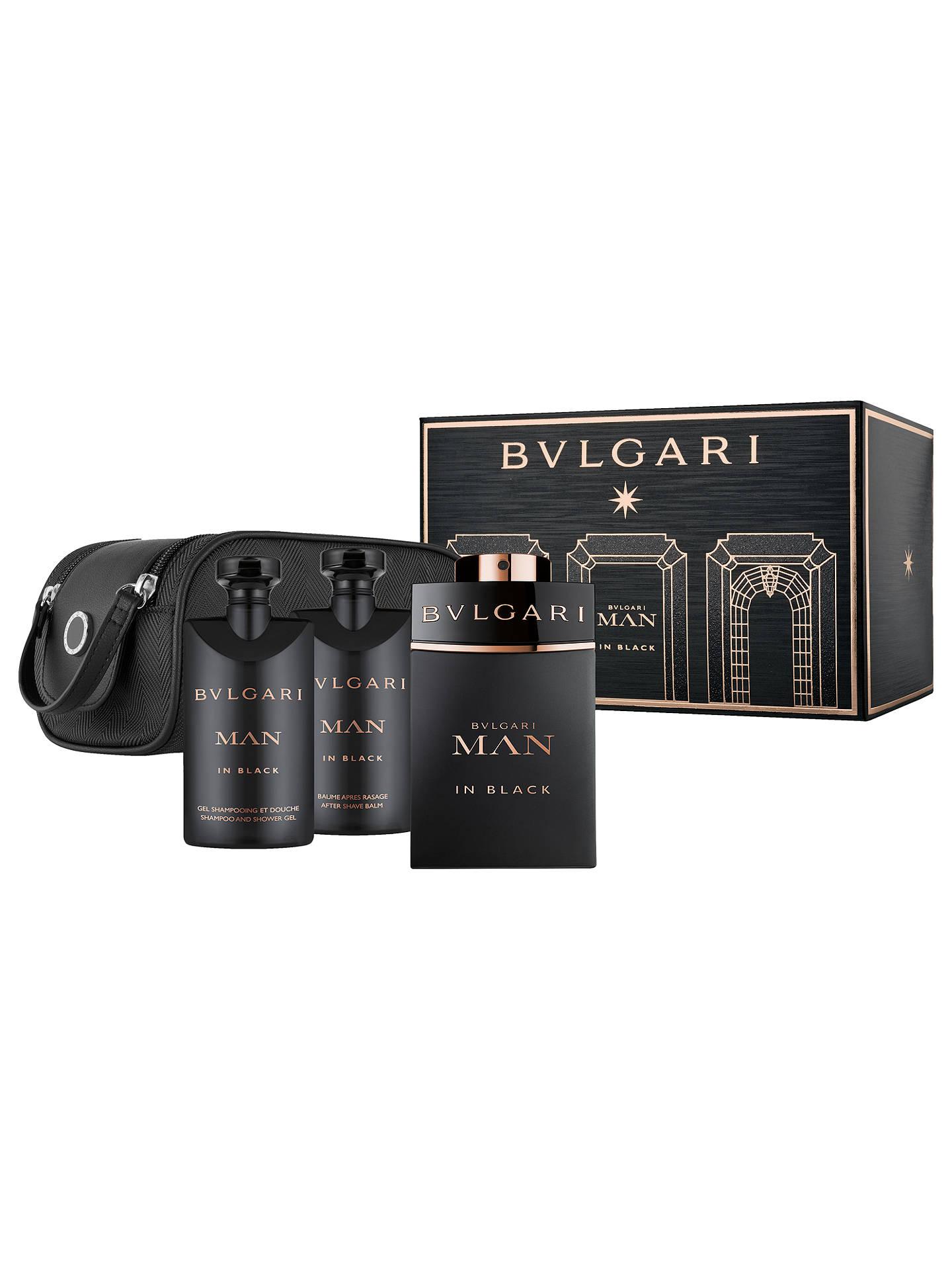 Bvlgari Man In Black 100ml Eau De Parfum Fragrance Gift Set At John Singapur Buybvlgari Online