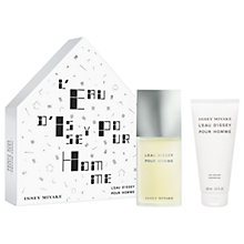 Buy Issey Miyake L'Eau d'Issey Pour Homme 75ml Eau de Toilette Fragrance Gift Set Online at johnlewis.com