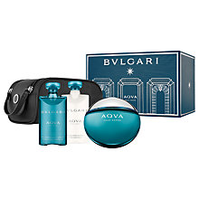 Buy BVLGARI Aqua Pour Homme 100ml Eau de Toilette Fragrance Gift Set Online at johnlewis.com