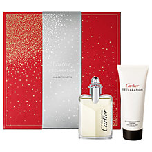 Buy Cartier Déclaration 50ml Eau de Toilette Fragrance Gift Set Online at johnlewis.com