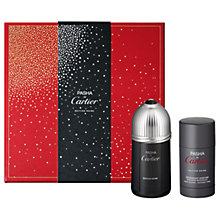 Buy Cartier Pasha de Cartier Edition Noire 100ml Eau de Toilette Fragrance Gift Set Online at johnlewis.com