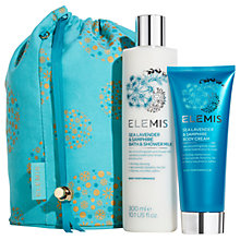 Buy Elemis Sea Lavender & Samphire Bath & Body Gift Set Online at johnlewis.com