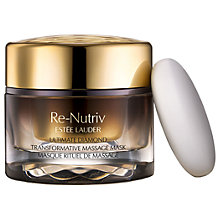 Buy Estée Lauder Re-Nutriv Ultimate Diamond Transformative Massage Mask, 50ml Online at johnlewis.com