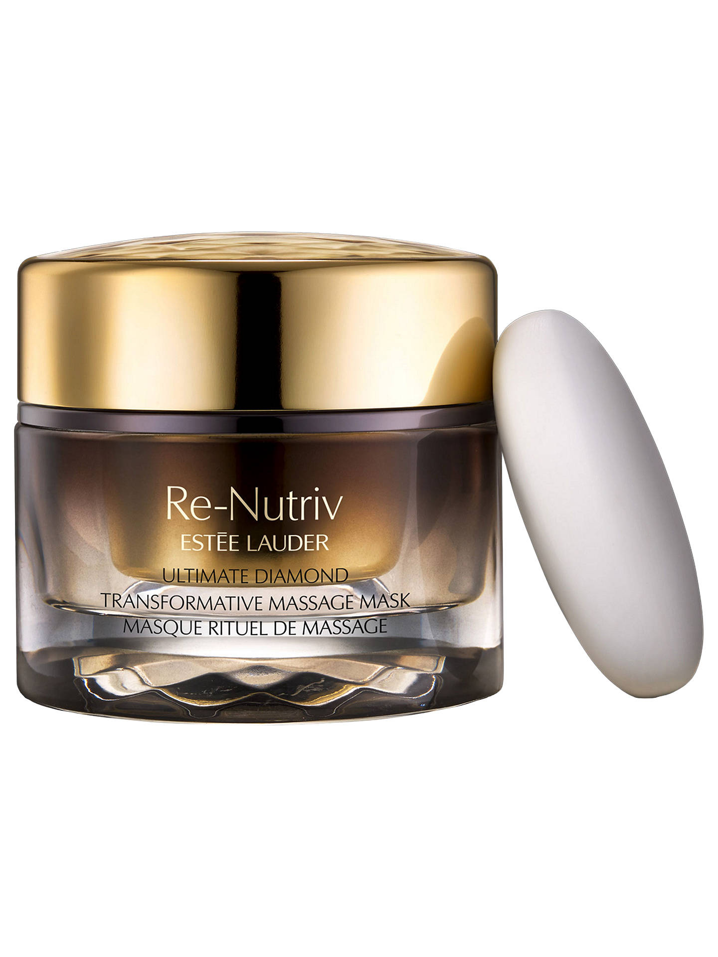 BuyEstée Lauder Re-Nutriv Ultimate Diamond Transformative Massage Mask, 50ml Online at johnlewis.com