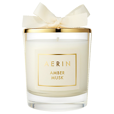 AERIN Amber Musk Scented Candle, 200g
