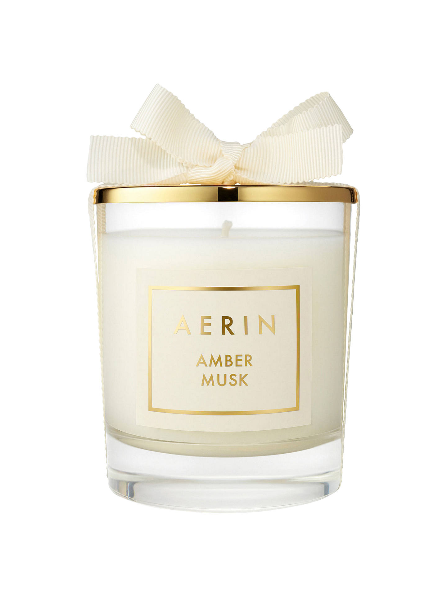 Buy AERIN Amber Musk Scented Candle, 200g Online at johnlewis.com