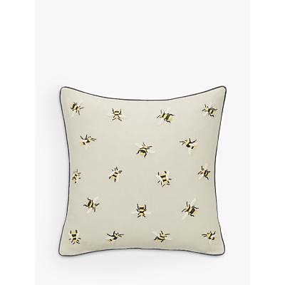 John Lewis Bee Cushion, Grey