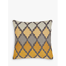 Buy John Lewis Sundar Cushion, Lagoon Online at johnlewis.com