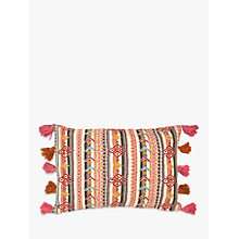 Buy John Lewis Arora Embroidery Cushion, Multi Online at johnlewis.com