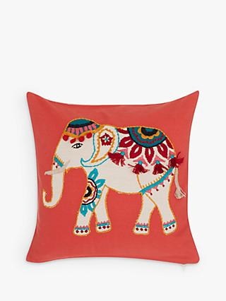 John Lewis & Partners Marigold Elephant Cushion