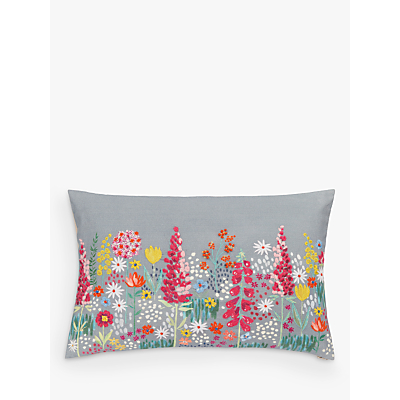 John Lewis Sissinghurst Border Cushion, Multi