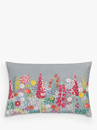 John Lewis & Partners Sissinghurst Border Cushion, Multi